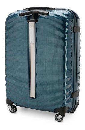 Женский дорожный чемодан lite-shock  SAMSONITE синего цвета, арт. 98V-01001 | Фото 2
