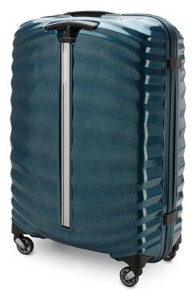 Женский дорожный чемодан lite-shock medium SAMSONITE синего цвета, арт. 98V-01002 | Фото 2