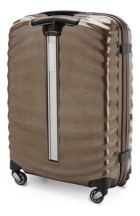 Женский дорожный чемодан lite-shock  SAMSONITE темно-бежевого цвета, арт. 98V-05001 | Фото 2