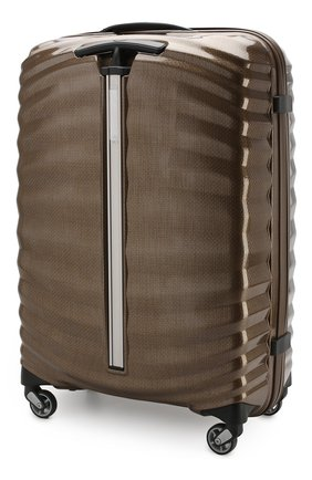 Женский дорожный чемодан lite-shock medium SAMSONITE темно-бежевого цвета, арт. 98V-05002 | Фото 2
