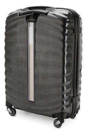 Женский дорожный чемодан lite-shock  SAMSONITE черного цвета, арт. 98V-09001 | Фото 2