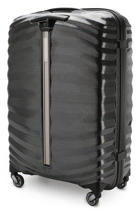 Женский дорожный чемодан lite-shock medium SAMSONITE черного цвета, арт. 98V-09002 | Фото 2