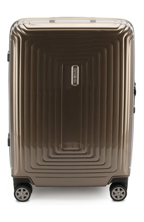 Женский дорожный чемодан neopulse  SAMSONITE бежевого цвета, арт. 44D-05001   Фото 1