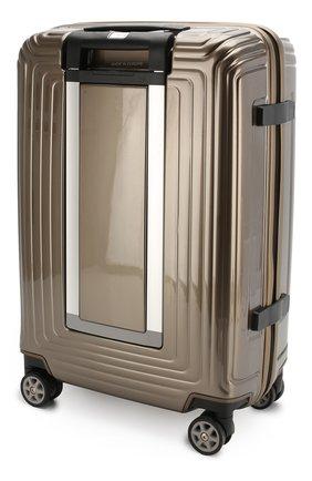 Женский дорожный чемодан neopulse  SAMSONITE бежевого цвета, арт. 44D-05001   Фото 2