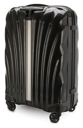 Женский дорожный чемодан cosmolite fl 2 medium SAMSONITE черного цвета, арт. V22-09306   Фото 2