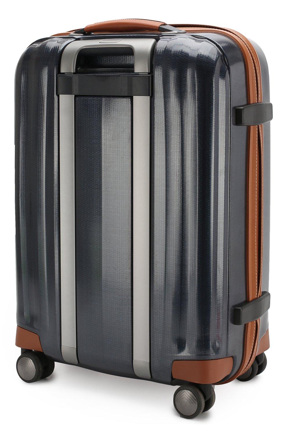 Женский дорожный чемодан lite cube dlx SAMSONITE синего цвета, арт. 82V-01002 | Фото 2 (Статус проверки: Проверено, Проверена категория; Ограничения доставки: oversized; Размер: large)