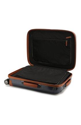 Женский дорожный чемодан lite cube dlx SAMSONITE синего цвета, арт. 82V-01002 | Фото 3 (Статус проверки: Проверено, Проверена категория; Ограничения доставки: oversized; Размер: large)