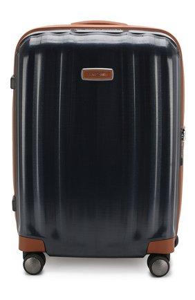 Женский дорожный чемодан lite cube dlx medium SAMSONITE синего цвета, арт. 82V-01003 | Фото 1