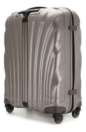 Женский дорожный чемодан cosmolite fl 2 SAMSONITE светло-серого цвета, арт. V22-15302   Фото 2