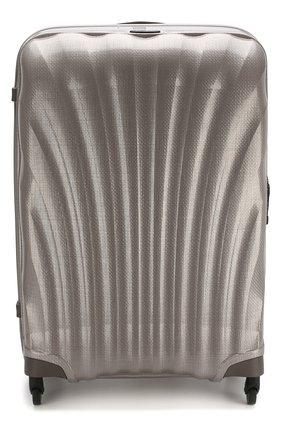 Женский дорожный чемодан cosmolite fl 2 large SAMSONITE светло-серого цвета, арт. V22-15304 | Фото 1