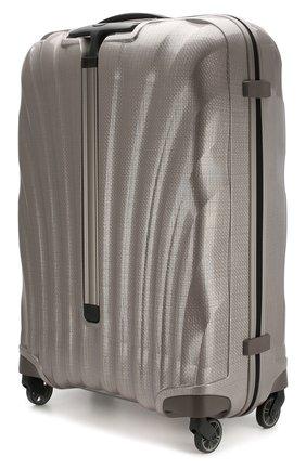 Женский дорожный чемодан cosmolite fl 2 large SAMSONITE светло-серого цвета, арт. V22-15304 | Фото 2
