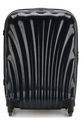 Женский дорожный чемодан cosmolite fl 2 SAMSONITE черного цвета, арт. V22-31302   Фото 1