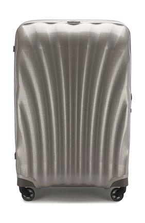 Женский дорожный чемодан cosmolite fl 2 extra large SAMSONITE светло-серого цвета, арт. V22-15305 | Фото 1