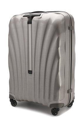 Женский дорожный чемодан cosmolite fl 2 extra large SAMSONITE светло-серого цвета, арт. V22-15305 | Фото 2