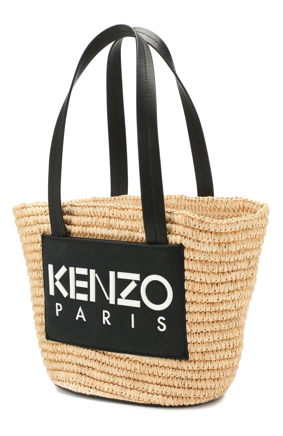 Сумка Summer Kenzo черная цвета | Фото №3