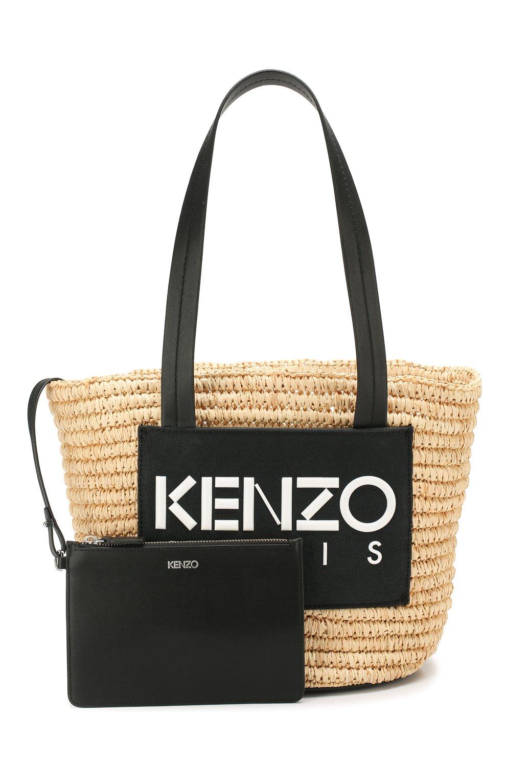 Сумка Summer Kenzo черная цвета | Фото №5