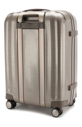 Женский дорожный чемодан lite cube SAMSONITE бежевого цвета, арт. 33V-05008 | Фото 2