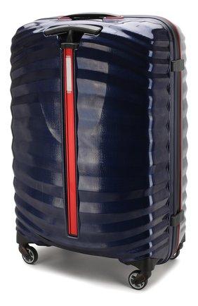 Женский дорожный чемодан lite-shock sport medium SAMSONITE синего цвета, арт. CF3-11002 | Фото 2