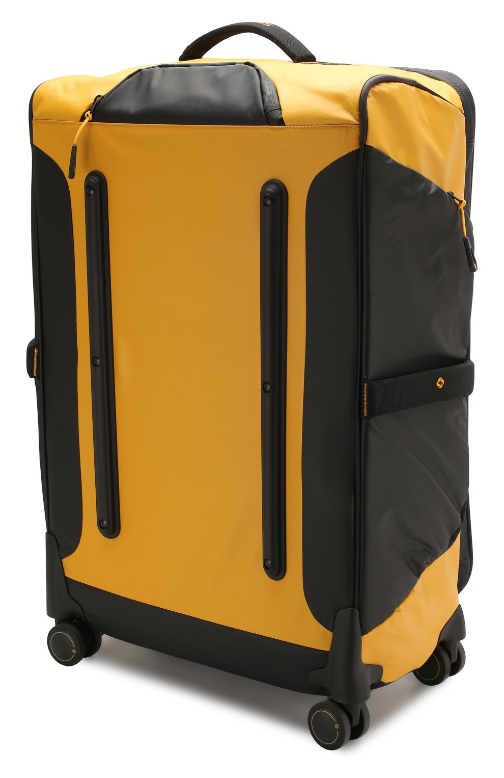 19b80fbaf818 Мужской желтый дорожный чемодан paradiver light medium SAMSONITE ...