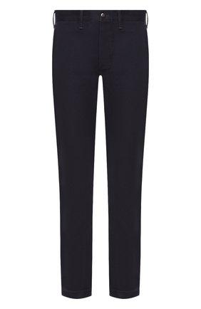 Мужской хлопковые брюки RRL темно-синего цвета, арт. 782559351 | Фото 1