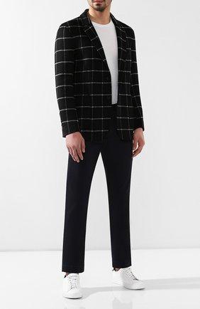 Мужской хлопковые брюки RRL темно-синего цвета, арт. 782559351 | Фото 2