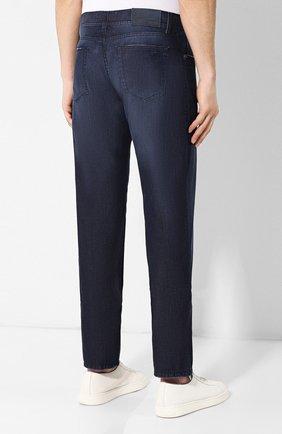 Мужские джинсы ANDREA CAMPAGNA темно-синего цвета, арт. AC102/T84.W953   Фото 4