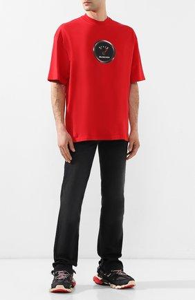 Мужские текстильные кроссовки track BALENCIAGA черного цвета, арт. 542023/W1GB6 | Фото 2