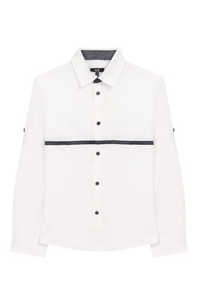 Комплект из брюк и рубашки с гастуком-бабочкой | Фото №2