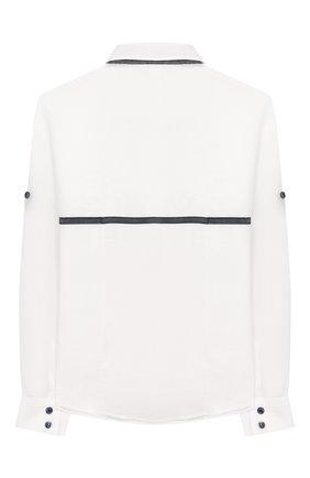 Комплект из брюк и рубашки с гастуком-бабочкой | Фото №3
