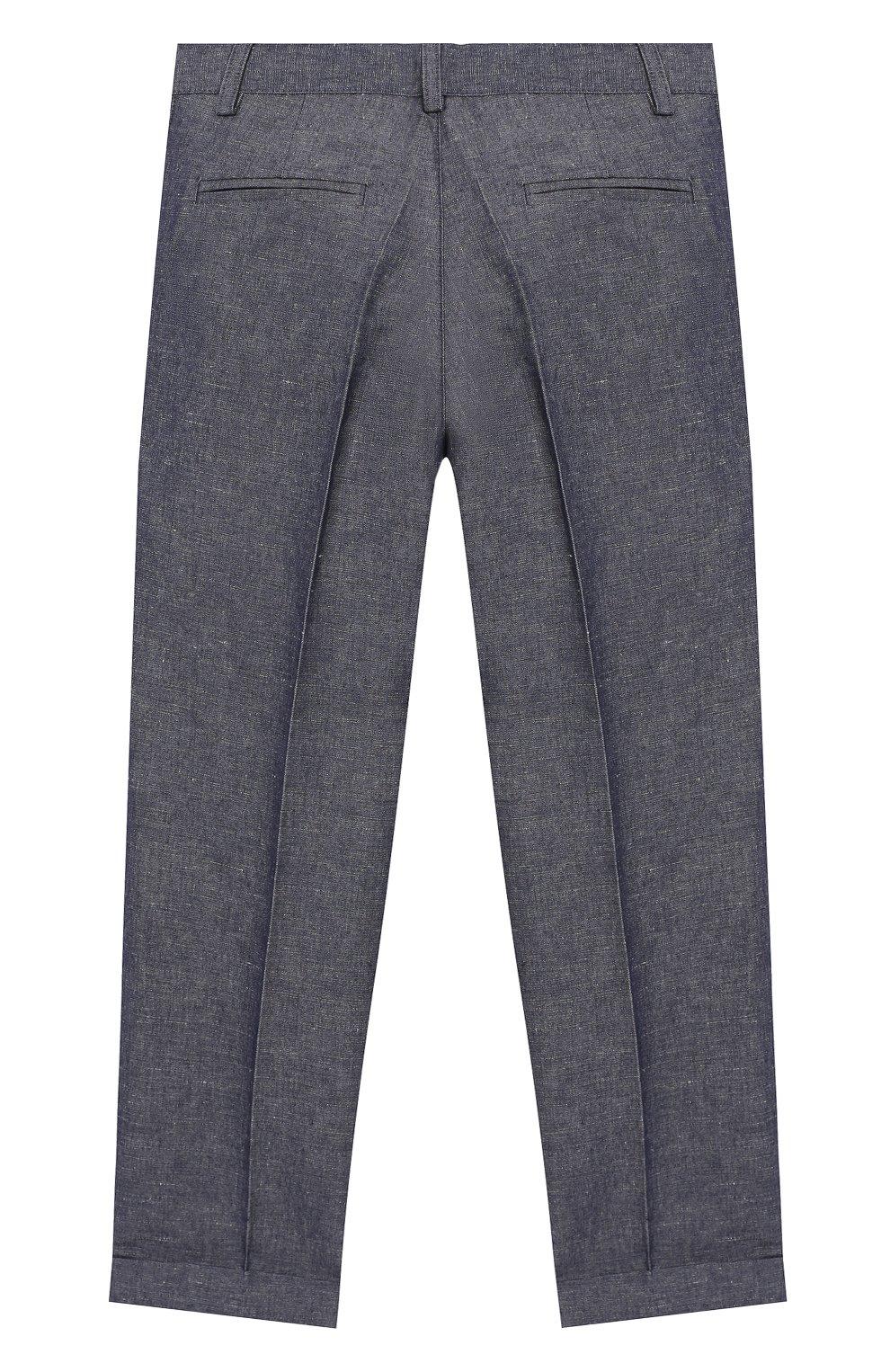 Комплект из брюк и рубашки с гастуком-бабочкой | Фото №5