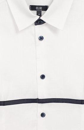 Комплект из брюк и рубашки с гастуком-бабочкой | Фото №8