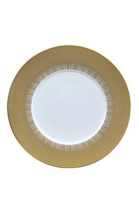 Мужского сервировочная тарелка sol BERNARDAUD золотого цвета, арт. 1655/2134 | Фото 1