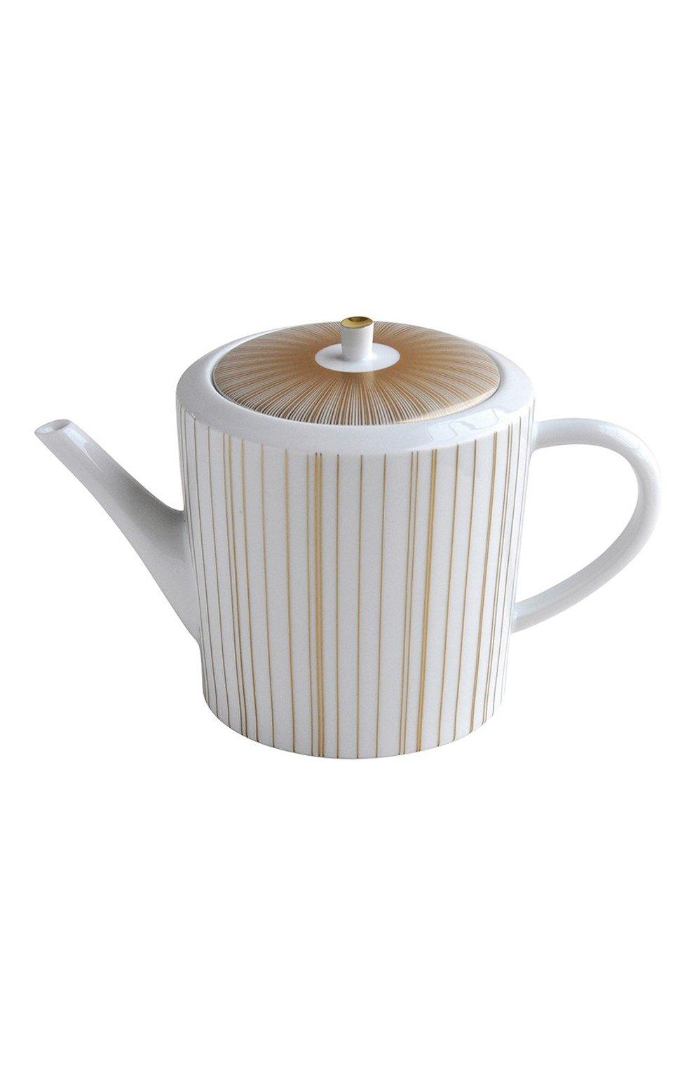 Мужского чайник sol BERNARDAUD золотого цвета, арт. 1655/4200 | Фото 1