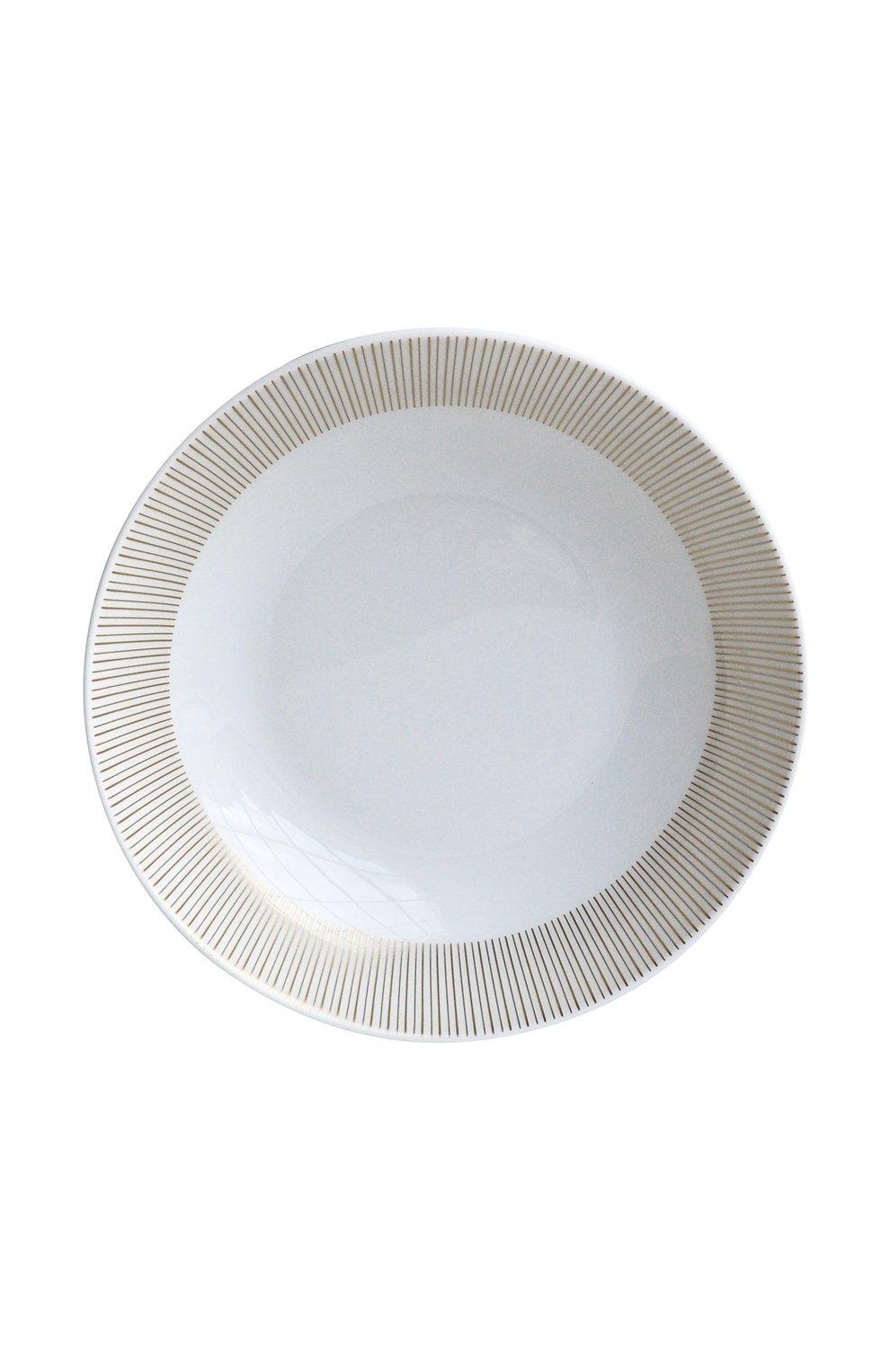 Мужского суповая тарелка sol BERNARDAUD золотого цвета, арт. 1655/26   Фото 1