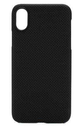 Мужской чехол для iphone xs PITAKA черного цвета, арт. KI8002XS | Фото 1