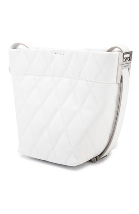Сумка GV Bucket mini Givenchy белая цвета | Фото №3