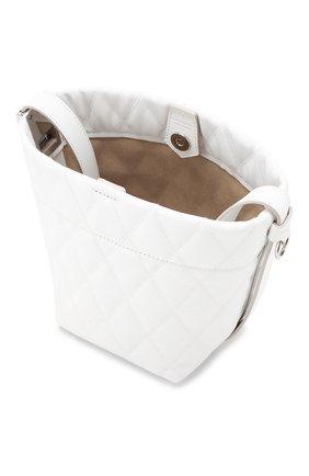 Сумка GV Bucket mini Givenchy белая цвета | Фото №4