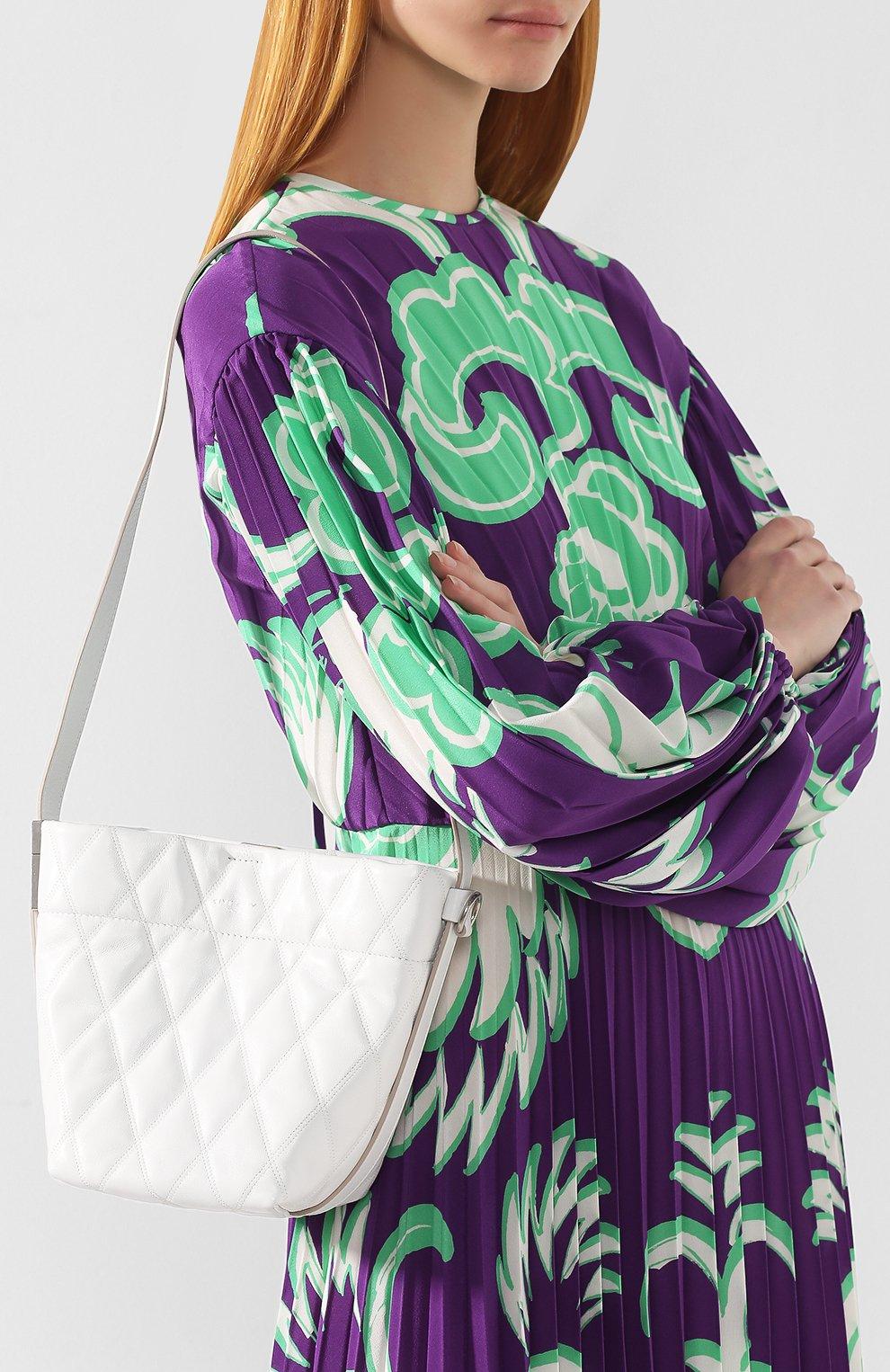 Сумка GV Bucket mini Givenchy белая цвета | Фото №5