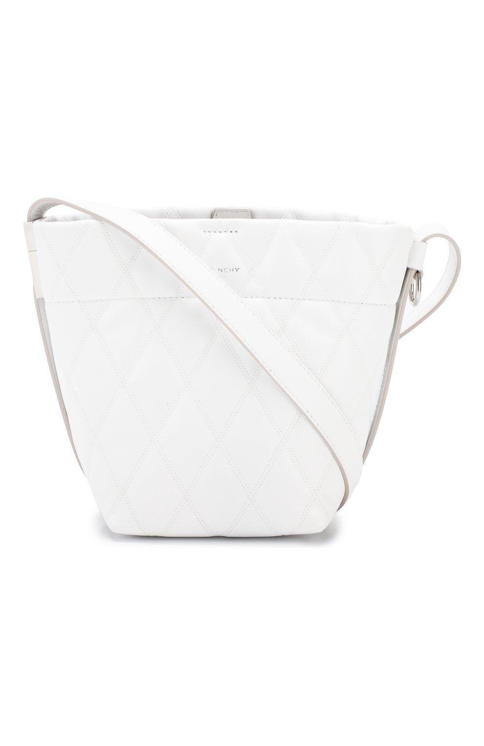 Сумка GV Bucket mini Givenchy белая цвета | Фото №6