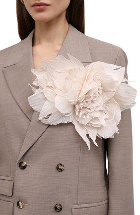 брошь pion FLOWER ME розового цвета, арт. PION-NS016010L | Фото 2