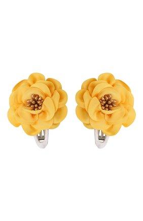 Комплект из двух заколок Gold Flower  | Фото №1