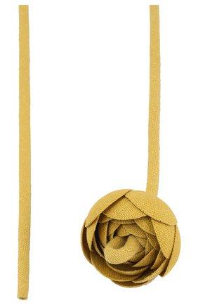 Женское колье кувшинка FLOWER ME бежевого цвета, арт. LILI-LI008010M | Фото 2