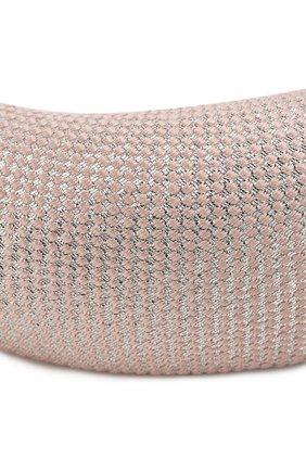 Женский ободок для волос FLOWER ME розового цвета, арт. HAIRBAND-NS016010L   Фото 2
