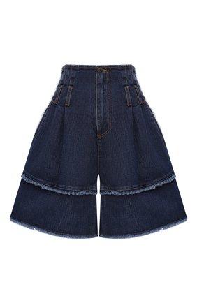 Женские джинсовые шорты DOLCE & GABBANA темно-синего цвета, арт. FTAZ5D/G897M | Фото 1