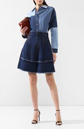 Женские джинсовые шорты DOLCE & GABBANA темно-синего цвета, арт. FTAZ5D/G897M | Фото 2
