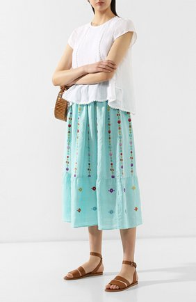 Льняная юбка   Фото №2