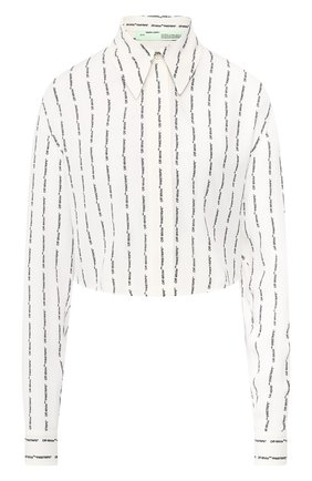 Блузка с логотипом бренда | Фото №1