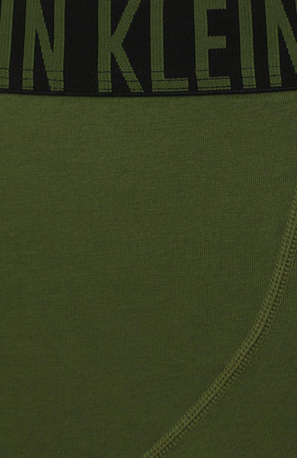 Детские трусы - 2 шт. CALVIN KLEIN хаки цвета, арт. B70B700122   Фото 3
