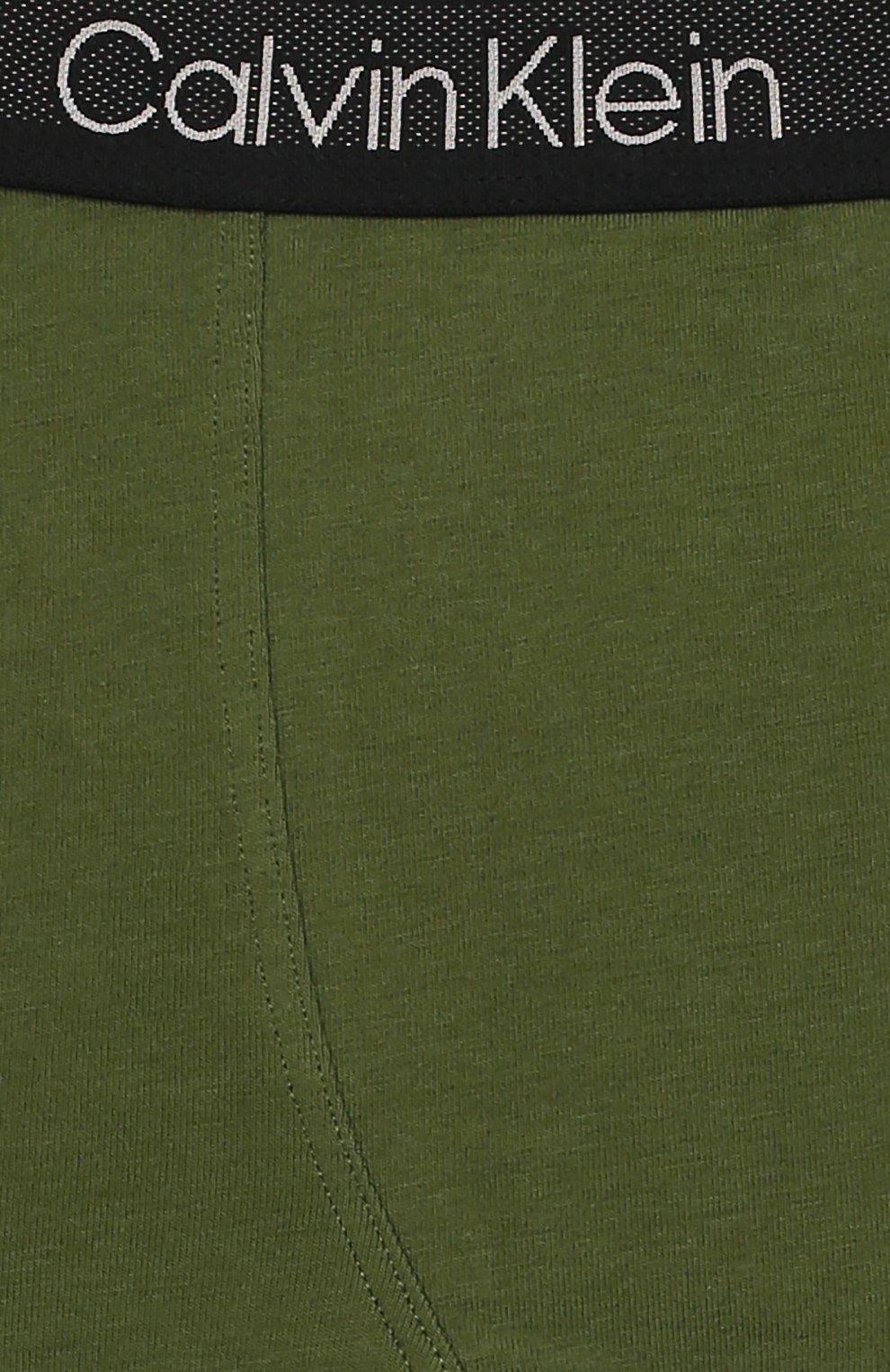 Детские комплект из двух пар трусов CALVIN KLEIN хаки цвета, арт. B70B700198 | Фото 3