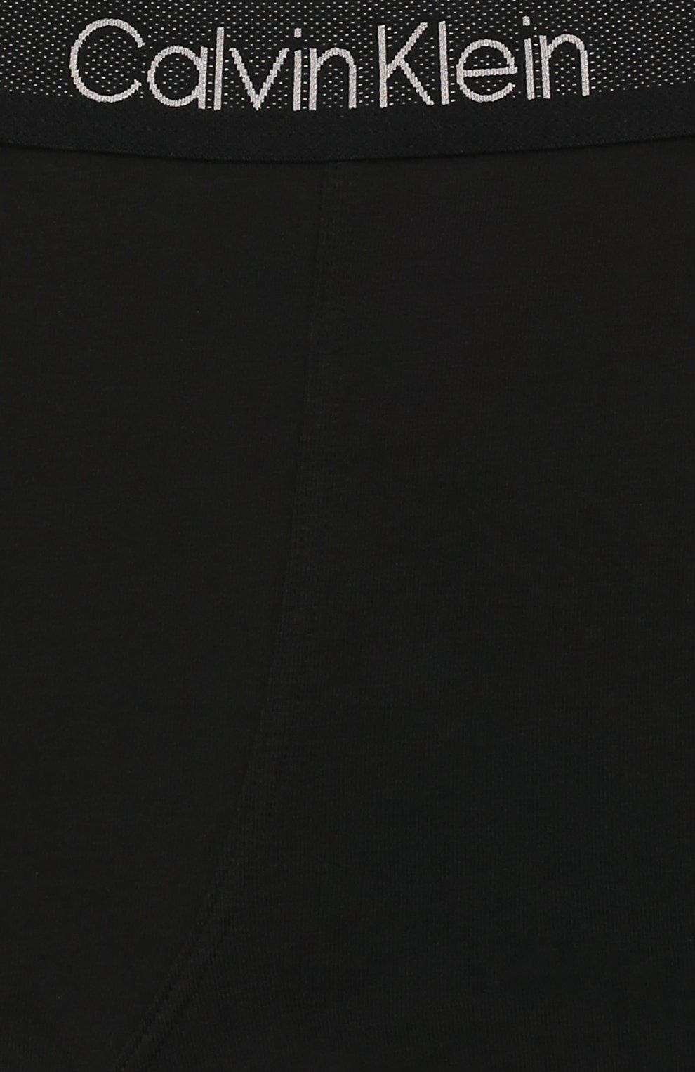 Детские комплект из двух пар трусов CALVIN KLEIN хаки цвета, арт. B70B700198 | Фото 4